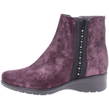Zapatos Mujer Botines Piesanto 205977 Burdeo