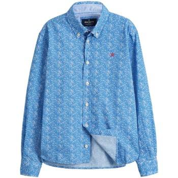 textil Niño Camisas manga larga Hackett HK301522 Azul