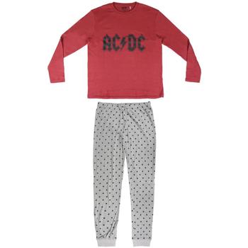 textil Hombre Pijama Ac/dc 2200004849 Rojo