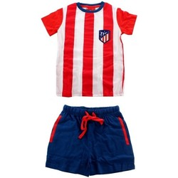textil Hombre Pijama Atletico De Madrid 100-378 Rojo