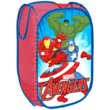 Casa Niños Baúles, cajas de almacenamiento Avengers AV9438 Azul