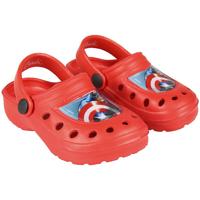 Zapatos Niño Zuecos (Clogs) Capitan America 2300004303B Rojo