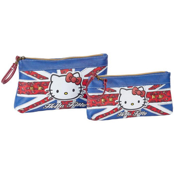 Bolsos Mujer Neceser Hello Kitty 45431 Azul
