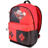 Bolsos Niños Mochila Harley Quinn 39422 Rojo