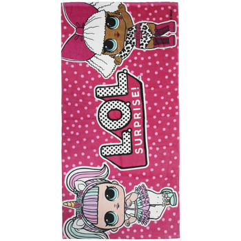 Casa Niña Toalla y manopla de toalla Lol 2200004066 Rosa