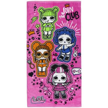 Casa Niña Toalla y manopla de toalla Lol 2200005501 Rosa