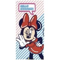 Casa Niña Toalla y manopla de toalla Disney WD13070 Blanco