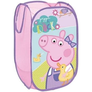 Casa Niños Baúles, cajas de almacenamiento Peppa Pig PP12233 Morado