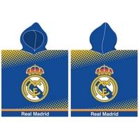 Casa Niños Toalla y manopla de toalla Real Madrid RM171171 Azul