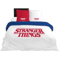 Casa Niños Funda de edredón Stranger Things 64112 Blanco