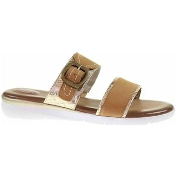 Zapatos Mujer Zuecos (Mules) Jana 882710726339 Marrón