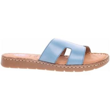 Zapatos Mujer Zuecos (Mules) Jana 882711526843 Celeste