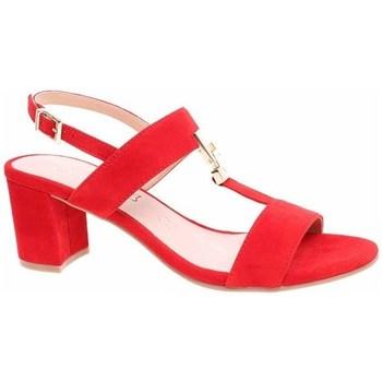 Zapatos Mujer Sandalias Caprice 992830322524 Rojos