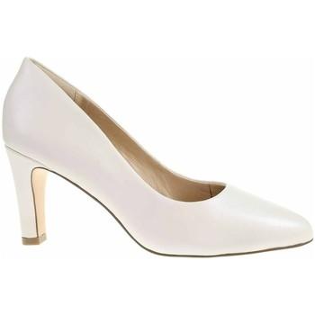 Zapatos Mujer Zapatos de tacón Caprice 992240024139 Crema