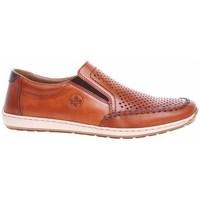Zapatos Hombre Mocasín Rieker 0886824 Marrón