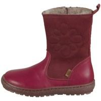 Zapatos Niños Botas de caña baja Bisgaard 61056219802 Rojo burdeos