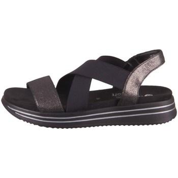 Zapatos Mujer Sandalias Remonte Dorndorf R295402 Negros