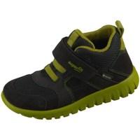 Zapatos Niños Zapatillas altas Superfit SPORT7 Mini Negros, Verde olivo