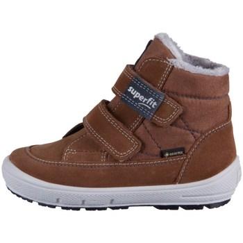 Zapatos Niños Botas de nieve Superfit Groovy Marrón