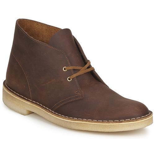 Zapatos especiales para hombres y mujeres Clarks DESERT BOOT Marrón