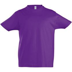 textil Niños Camisetas manga corta Sols 11770 Púrpura Oscuro