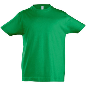 textil Niños Camisetas manga corta Sols 11770 Verde Kelly