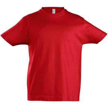 textil Niños Camisetas manga corta Sols 11770 Rojo