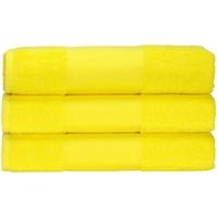 Casa Toalla y manopla de toalla A&r Towels 50 cm x 100 cm RW6036 Amarillo