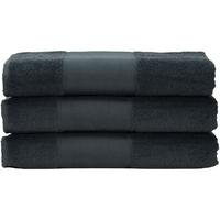 Casa Toalla y manopla de toalla A&r Towels 50 cm x 100 cm Grafito