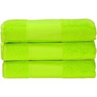 Casa Toalla y manopla de toalla A&r Towels 50 cm x 100 cm Verde lima