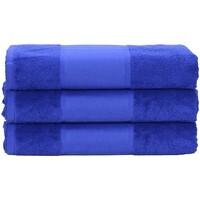 Casa Toalla y manopla de toalla A&r Towels 50 cm x 100 cm Azul oscuro
