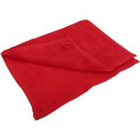 Casa Toalla y manopla de toalla Sols 30 cm x 50cm PC367 Rojo