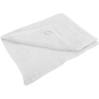 Casa Toalla y manopla de toalla Sols 30 cm x 50cm PC367 Blanco