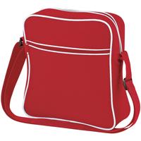 Bolsos Niño Macuto Bagbase BG16 Rojo/blanco