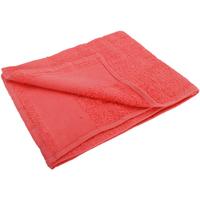 Casa Toalla y manopla de toalla Sols 50 cm x 100 cm PC368 Rojo