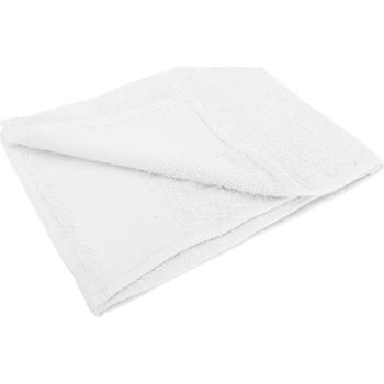 Casa Toalla y manopla de toalla Sols 50 cm x 100 cm PC368 Blanco