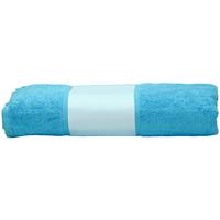 Casa Toalla y manopla de toalla A&r Towels 50 cm x 100 cm Azul agua
