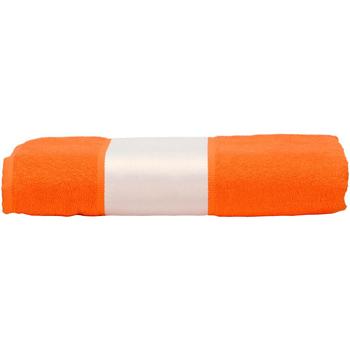 Casa Toalla y manopla de toalla A&r Towels 50 cm x 100 cm Naranja