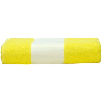 Casa Toalla y manopla de toalla A&r Towels 50 cm x 100 cm RW6040 Amarillo