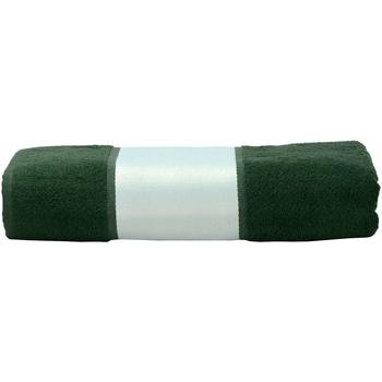 Casa Toalla y manopla de toalla A&r Towels 50 cm x 100 cm Verde oscuro