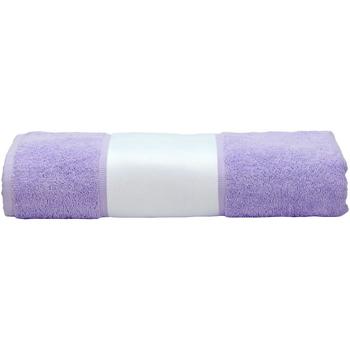 Casa Toalla y manopla de toalla A&r Towels 50 cm x 100 cm Morado