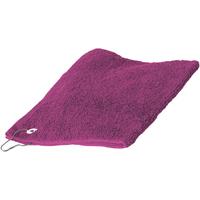 Casa Toalla y manopla de toalla Towel City 30 cm x 50 cm Fucsia