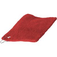 Casa Toalla y manopla de toalla Towel City 30 cm x 50 cm Rojo