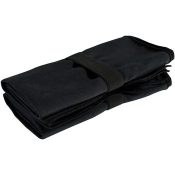 Casa Toalla y manopla de toalla Tridri RW4920 Negro