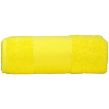 Casa Toalla y manopla de toalla A&r Towels RW6037 Amarillo
