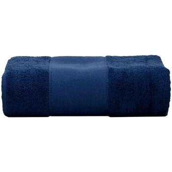 Casa Toalla y manopla de toalla A&r Towels RW6037 Azul marino