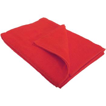 Casa Toalla y manopla de toalla Sols PC369 Rojo