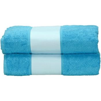 Casa Toalla y manopla de toalla A&r Towels RW6041 Azul agua
