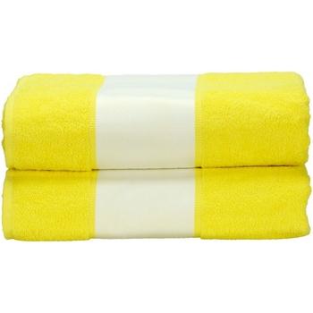 Casa Toalla y manopla de toalla A&r Towels RW6041 Amarillo