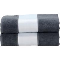 Casa Toalla y manopla de toalla A&r Towels RW6041 Grafito